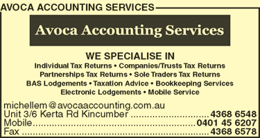Avoca Accounting Services