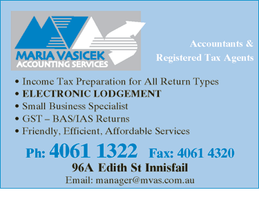 Maria Vasicek Accounting Services - Hobart Accountants
