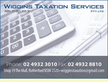 Wiggins Taxation Services Pty Ltd
