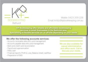 KP Bookkeeping - Hobart Accountants