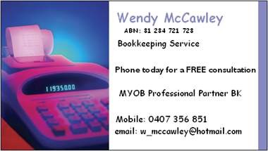 Wendy Mccawley - Hobart Accountants