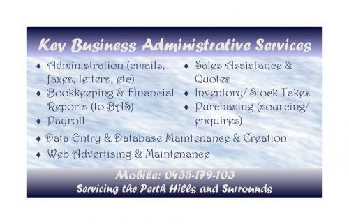 Key Business Administrative Services - Hobart Accountants
