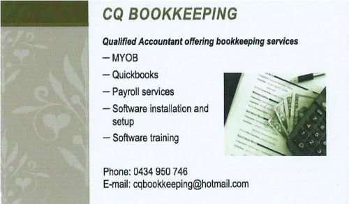 CQ Bookkeeping